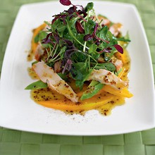 Chicken mango salad