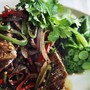 Black pepper chilli lamb