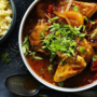 Chicken apricot tagine